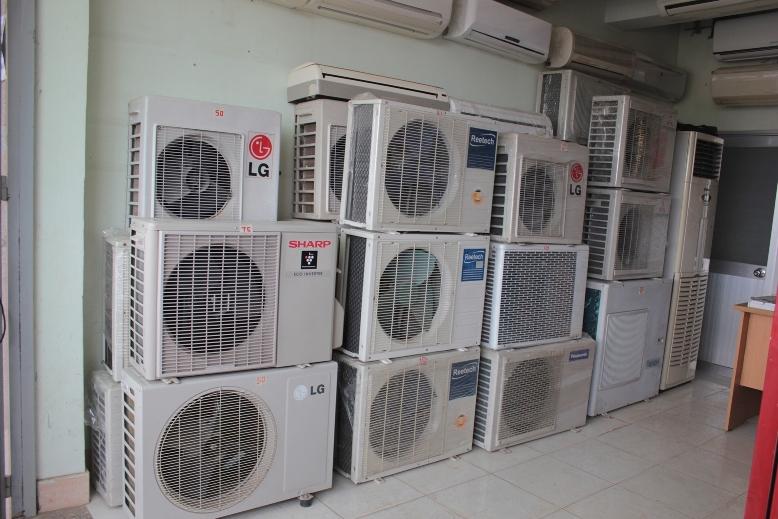 Kết quả hình ảnh cho Bán máy lạnh cũ